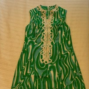 Lilly Pulitzer Dress with Zipper